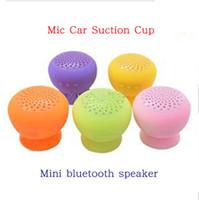 Mini Stereo Bluetooth Speaker Subwoofer Bass Sound Box per iPhone 4 5 iPod Nano iPad 3 4 Mini mani gratis Mic auto ventosa