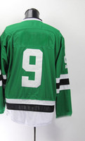 Wholesale Ice Hockey Jerseys Stars MODAND Green Cheap Brand Hockey Jerseys Well Stitched Name Discount Players Sports Jerseys Athletic Apparel