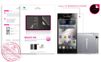 Front   Lenovo K900 Magic HR scratch high transparent protective film Flower Series