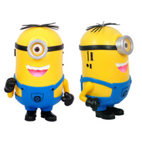 Wholesale DESPICABLE ME Speaker Mini HIFI Loud Speaker MP3 Player Amplifier Micro SD TF Card USB Disk Computer Minions Speakers