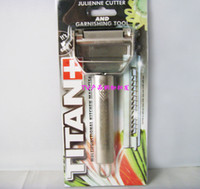 Wholesale TITAN stainless steel peeler multifunction peeler peeler