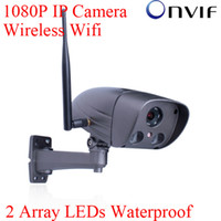 Wholesale Blue Iris H Megapixel P Sony Sensor Full HD Network Wifi IP Wireless Camera Array IR Outdoor Security Onvif