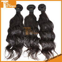 Malaysian Hair Natural Wave 12 14 16 18 20 22 24 26 28 inches 100% Unprocessed 5A Malaysian Hair Extensions 10pcs Lot Wholesale Malaysian Virgin Hair Natural Wave Human Hair Weave Can Dye Bleach On Sale