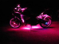 Wholesale NEW RGB R C PC Color LED SMD Motorcycle Light Kit kawasaki Ninja