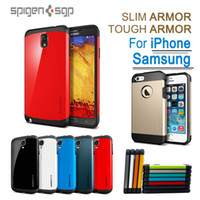 SGP TOUGH ARMOR SPIGEN SLIM ARMOR Hybrid Phone Case TPU+ PC C...
