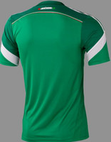 Wholesale Customized Season Home Green World Cup Soccer Jerseys New Jersey Football Jersey America Jerseys