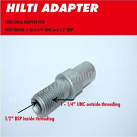 Wholesale HILTI core drill machine adapter DD200 to UNC and BSP