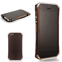 Wholesale Element RONIN IPhone5 Beliz Ziricote Hand Griinding Katana Vapor Flagship Exotic Wood Luxurious Cellphone Protecting Case