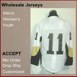 Wholesale Hot selling Cheap Brand new Athletic Jerseys Jordan Staal V Neck White Color Men s Hockey Jerseys size Mix Order
