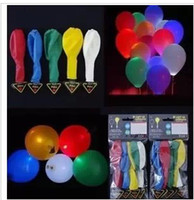 Wholesale 1000pcs LED ballon balloon light up balloon for christmas novelty balloon