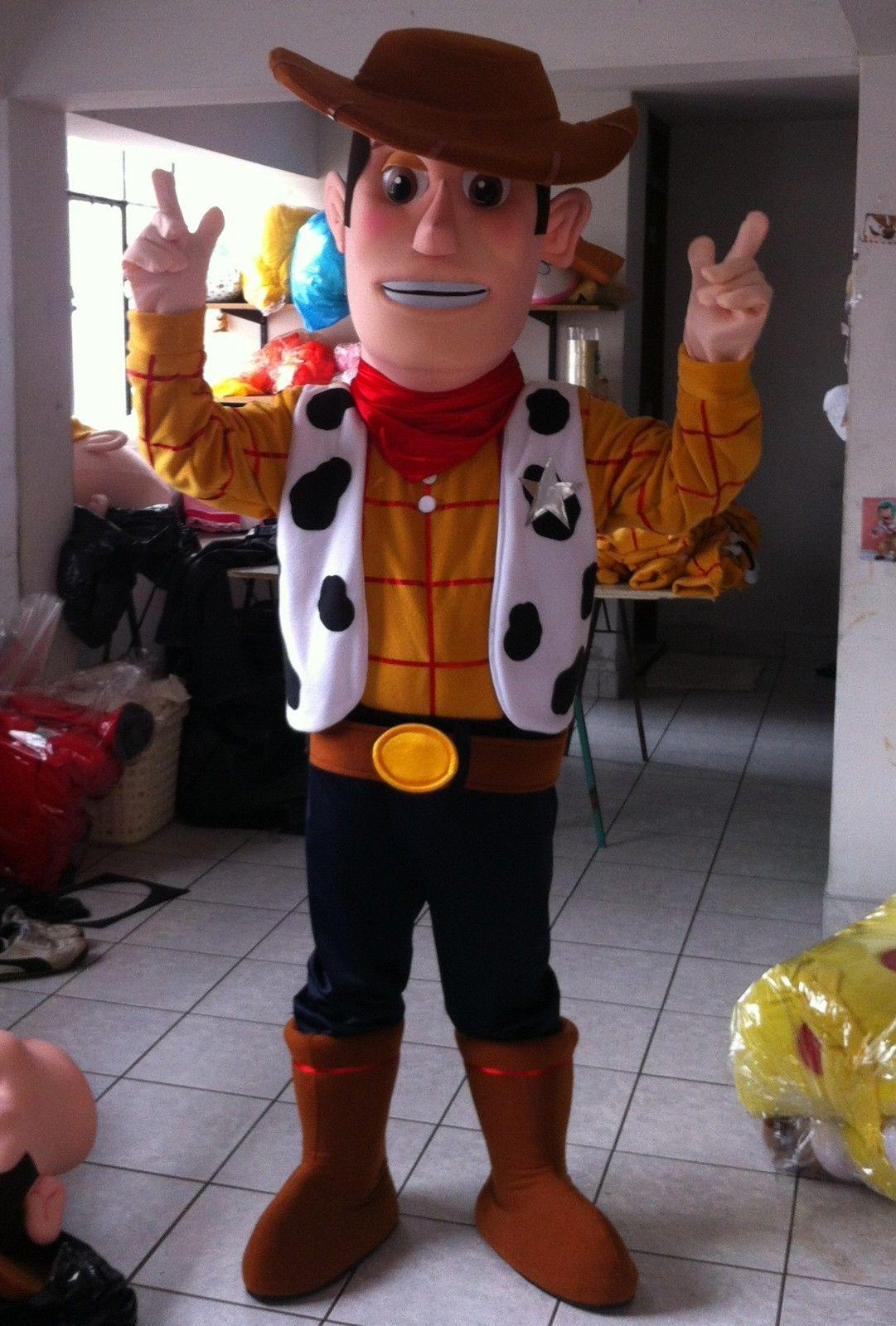 New Cowboy Mascot Costume Woody Character Halloween Toy Story Buzz ...