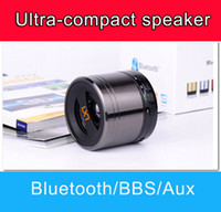 Wholesale Perfect soud steel Bluetooth Portable Mini Wireless Stereo Bass Subwoofer Speaker For Cellphones iphone ipod PC MP3 MP4 PSP BXYX A