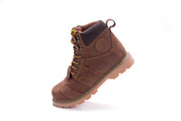 Wholesale New brand fashion Mens working shoes casual shoes Hiking outdoor Designer Genuine Leather British Riding Boots Sports cols
