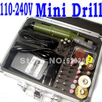 Wholesale Electric Tools Mini Drill carving burnish with Multifunction Engraving machine Electric mini set AC100 V