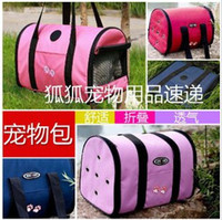 Wholesale Pet Carrier Soft Sided Cat Dog Comfort Travel Tote Bag
