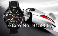 Men's Round Analog 2013 F1 Grand Touring GT Men Sport Quartz Watch Military Watches Army Japan PC Movement Wristwatch Fashion Men's Watches