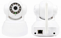 Wholesale P2P Plug Play Wireless IP Camera TF Micro SD Memory Card Slot Free Iphone Android App Software