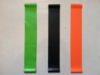 Wholesale Fitness Supplies Resistance band LOOP Circumference CM Light Med Heavy exercise pilates yoga Fitness Bands tubing Workout