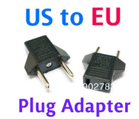 Wholesale A71 via Post US to EU Flat to Round Power Plug Convertor