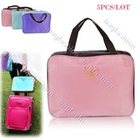 Wholesale 4PCS New Women Multi function Travel bag Korean Handbag luggage bags large capacity Henrynl