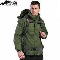 Jackets Waterproof Men Wholesale - Free Shipping! 2 pcs Set High quality Fashion Men Ski suits jacket Outdoor Slim skiwear one-piece Emergency clothing 5 size 010