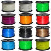 Wholesale DHL D Printer supplies Filament Makerbot RepRap ABS mm kg roll Mutil Color