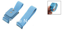 Wholesale Blue Wireless Adjustable Elastic Antistatic Wrist Strap Wristband