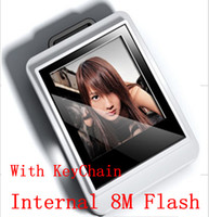 Wholesale Best Quality inch LCD Digital Photo MB Picture Frame Keychain Square digital photo with retail package