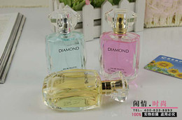 Wholesale Hot Blue Diamond perfume Women Eau de Toilette mature elegant floral perfume qjq226 a batch