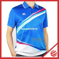 Wholesale Kason men Tshirt tournament Badminton Jersey men Badminton Jersey kason FAYG031