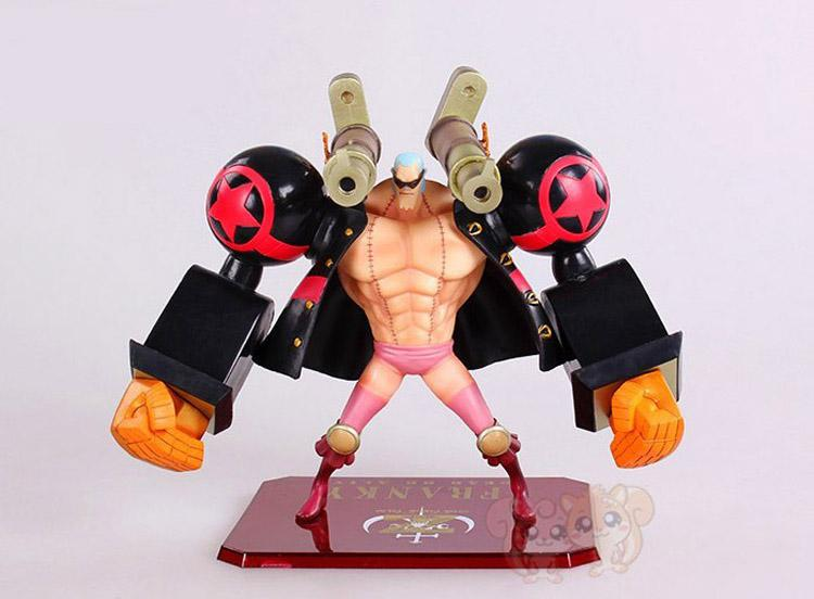 2017 Retail Anime One Piece 2years Later Franky Pvc Action ...