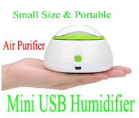 Wholesale New arrivel Portable Mini USB Humidifier Air Purifier Aroma Diffuser for Home Room Car