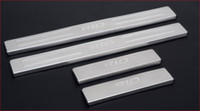 Wholesale KIA RIO stainless steel scuff plate door sill set car accessories for KIA RIO