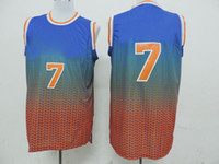 Wholesale Carmelo Anthony Knicks Revolution Jersey New Drift Fashion Basketball Jerseys High Quality Cheap Basketball Uniforms for Sale