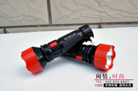 Wholesale Hot Medium rechargeable flashlight light flashlight long shots lorry flashlight qjq230 a batch