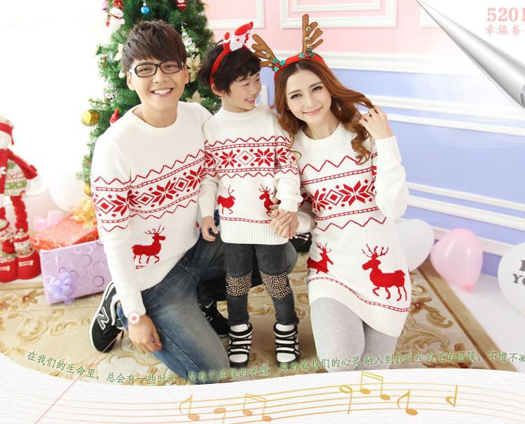 Family Matching Christmas Sweaters Kids Christmas Sweaters Womens