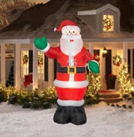 airblown inflatable christmas - M Tall Airblown Christmas Inflatable Santa MYY7096