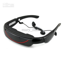 Wholesale VG320A Portable Eyewear quot Widescreen Multimedia Player Portable Video Glasses Virtual Theatre GB
