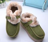 Wholesale 1pair free ship woman keep warm cotton shoes flange postpartum shoes