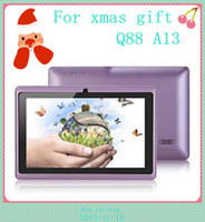 For Xmas gift Q88 7inch Capacitive A13 1. 2GHz tablet pc Andr...