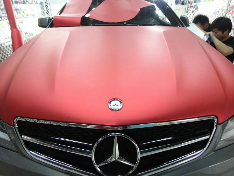 Metallic Red Cars Red Vinyl Wrap Metallic Matte