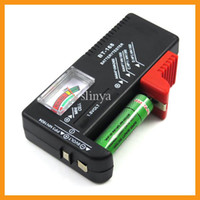 Wholesale BT Battery Tester Universal Handheld battery Volt checker tester AA C D V V Button