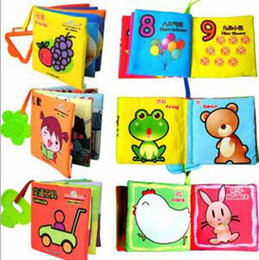 Wholesale Promotion price baby books early education toy multistyles can choose