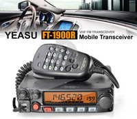 Wholesale car New YAESU FT R VHF W MHz FM Mobile Transceiver Radio mic speaker
