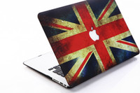 Wholesale UK Flag Pattern Rubberiz Matt Hard Case Cover Shell Free Silicone Keyboard Skin For Macbook Air quot quot Pro quot quot Retina quot quot