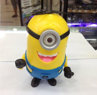 Wholesale Cute Mini Speaker DESPICABLE ME Portable Micro SD TF Card USB Speakers FM Radio MP3 MP4 Player Amplifier table PC iphone samsung htc nokia