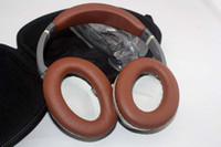 Wholesale brown Headphone Acoustic Noise Cancelling Headphones Headset with Retail Box