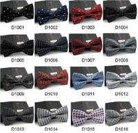 Wholesale 10pcs New High Quality Novelty Mens Unique Tuxedo Bowtie Bow Tie Necktie