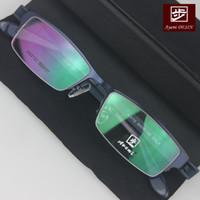 Wholesale New arrival ultra light tr90 titanium Men box big eyeglasses glasses frame myopia frame glasses