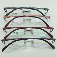 Wholesale Bn bonnie titanium frames glasses frame female glasses fashion box ultra light eyeglasses frame
